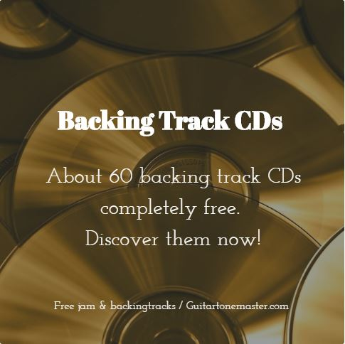 Backing track cds