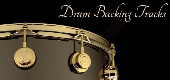 Drum backing tracks