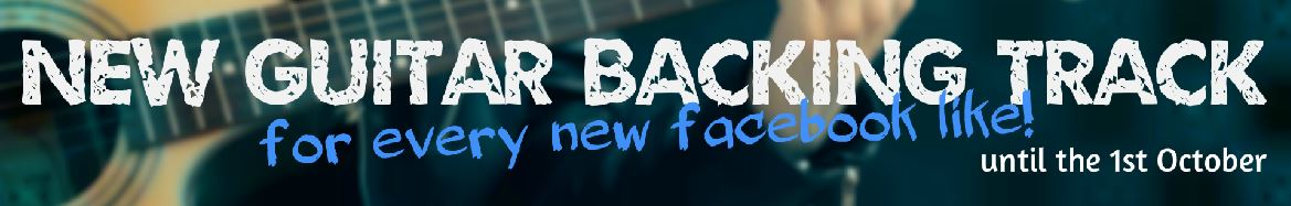 New guitar backing Tracks