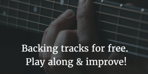 Backing tracks for free! Play along & improve