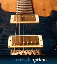 Guitar backing- & jamtracks