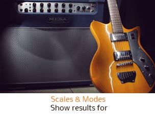 Scales and Modes show results for