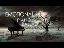 Embedded thumbnail for Emotional piano ballad backing track in D minor