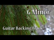 Embedded thumbnail for Rock Guitar Backing Track in G Minor (71 bpm)