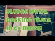 Embedded thumbnail for Sludge backing track
