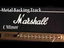 Embedded thumbnail for Metal Guitar Backing Track in C Minor (110 bpm)