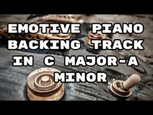 Embedded thumbnail for Emotive Piano Backing Track in C Major - A Minor