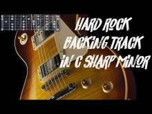 Embedded thumbnail for Hard rock backing track in c# minor