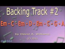 Embedded thumbnail for Em backing track