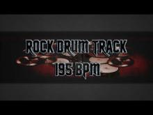 Embedded thumbnail for Fast Rock Drum Track 195 BPM (HQ,HD)