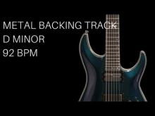 Embedded thumbnail for Metal / Rock Guitar Backing Track | D Minor (92 Bpm)