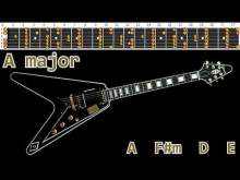Embedded thumbnail for Happy Rock Ballad Guitar Backing Track - A major   95bpm