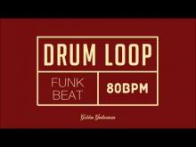 Embedded thumbnail for Funk Drum Loop 80 BPM