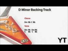 Embedded thumbnail for Melodic Rock Guitar Backing Track D Minor