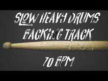 Embedded thumbnail for Slow heavy drums backing track