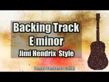 Embedded thumbnail for All Along The Watchtower Solo Backing Track in E minor - Jimi Hendrix Classic Rock Guitar Backtrack