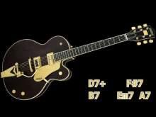 Embedded thumbnail for Swing Jazz Guitar Backing Track - Dmaj7 | 145bpm