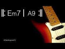 Embedded thumbnail for Funky Guitar Backing Track in Em / E Dorian