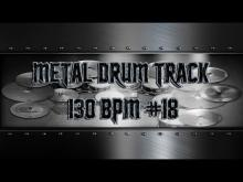 Embedded thumbnail for Simple Straight Metal Drum Track 130 BPM | Preset 3.0 (HQ,HD)
