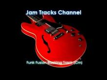Embedded thumbnail for Funk Fusion Backing Track (Cm)