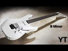 Embedded thumbnail for Heavy Rock Guitar Backing Track B Minor
