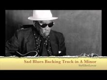 Embedded thumbnail for Slow Blues Backing Track A Minor