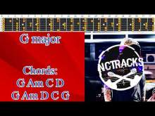 Embedded thumbnail for Cordial Hearty Classic Guitar Ballad Backing Track - G Major Scale  | 85 bpm