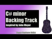 Embedded thumbnail for Backing Track in C# minor Pop Rock Style with Chords & C# minor Pentatonic Scale