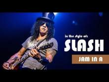 Embedded thumbnail for Slash Style Backing Track Jam in A (G 'N R)