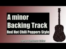 Embedded thumbnail for Backing Track in A Minor Red Hot Chili Peppers Style with Chords and A Minor Pentatonic Scale