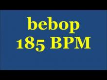 Embedded thumbnail for Drum Loops for Practice Bebop 185bpm