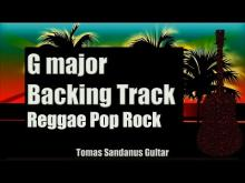 Embedded thumbnail for G major Backing Track - Reggae Pop Rock Guitar Backtrack - Chords - Scale - BPM