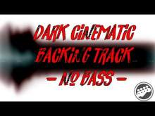 Embedded thumbnail for Dark cinematic backing track no bass - em