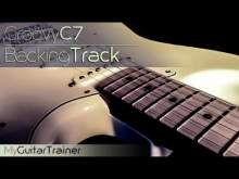 Embedded thumbnail for Backing Track - Groovy C7