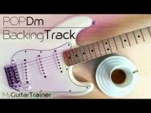 Embedded thumbnail for Backing Track - Pop Dm (4 chords song)