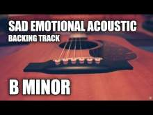 Embedded thumbnail for Sad Emotional Acoustic Instrumental In B Minor