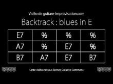 Embedded thumbnail for Blues in E (90bpm) : Backing track