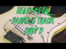 Embedded thumbnail for Heavy metal backing track drop d