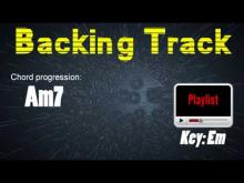 Embedded thumbnail for Slow Pentatonic Backing Track