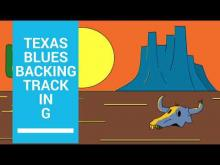 Embedded thumbnail for Texas Blues Backing Track in G
