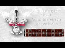 Embedded thumbnail for Guitar Backing / Jam Track - Punk Rock in C#m / E