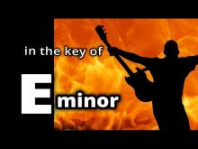 Embedded thumbnail for HARD ROCK Backing Track in E minor ROCK SHUFFLE for Guitar Solo Improv!