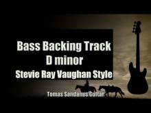 Embedded thumbnail for Bass Backing Track D minor - Stevie Ray Vaughan Style - Slow Blues - NO BASS - Chords - Scale - BPM