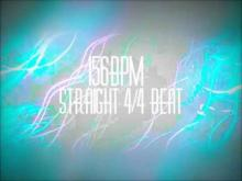 Embedded thumbnail for 156BPM Straight Beat - 4/4 Drum Loop