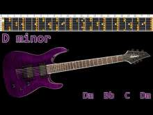 Embedded thumbnail for Haunting Metal Guitar Backing Track - D minor | 115bpm