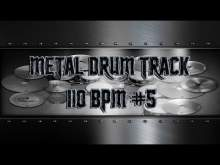 Embedded thumbnail for Simple Straight Metal Drum Track 110 BPM | Preset 3.0 (HQ,HD)
