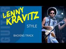 Embedded thumbnail for KRAVITZ Blues Rock Guitar Backing Track jam in E7 AV36