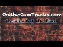 Embedded thumbnail for Louisiana Grit - Guitar Jam Track (Dm Blues)