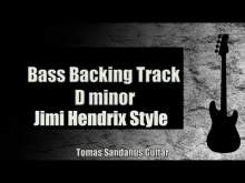 Embedded thumbnail for Bass Backing Track D minor - Dm - All Along The Watchtower Style -Jimi Hendrix Classic Rock NO BASS