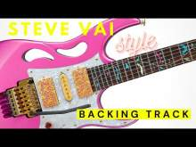 Embedded thumbnail for STEVE VAI Style Ballad Rock Guitar Backing Track Jam in A minor